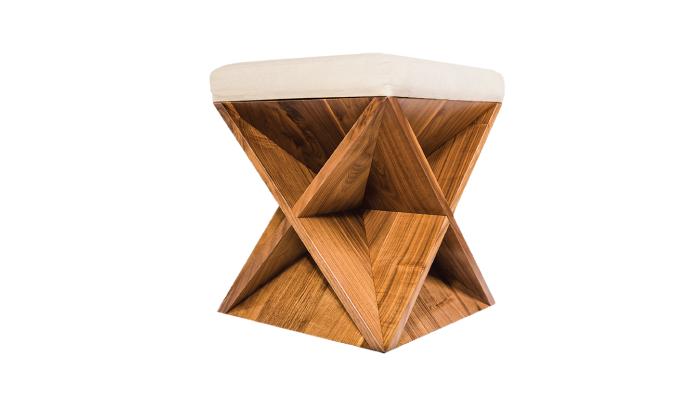 modern wooden stool
